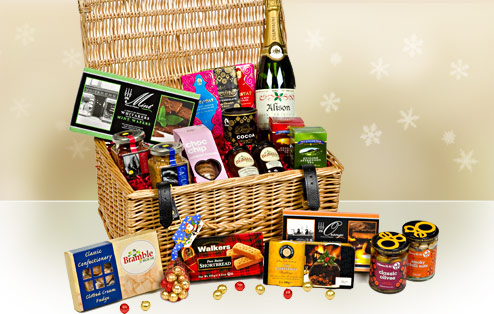 christmas h&er & Give a Hamper with a Heart This Christmas - Door Gift