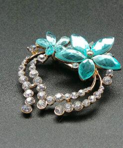 Nereid Flower Brooch
