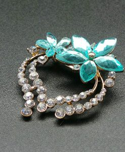 Nereid Flower Brooch