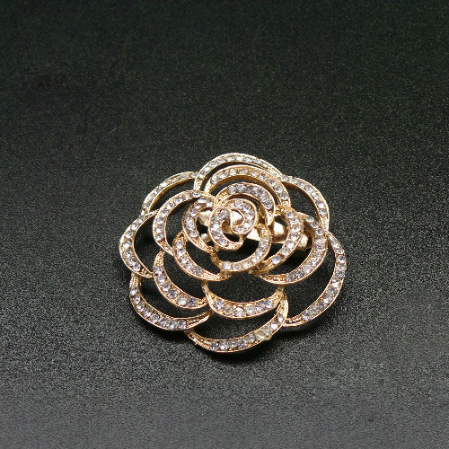 Rose Elina Brooch