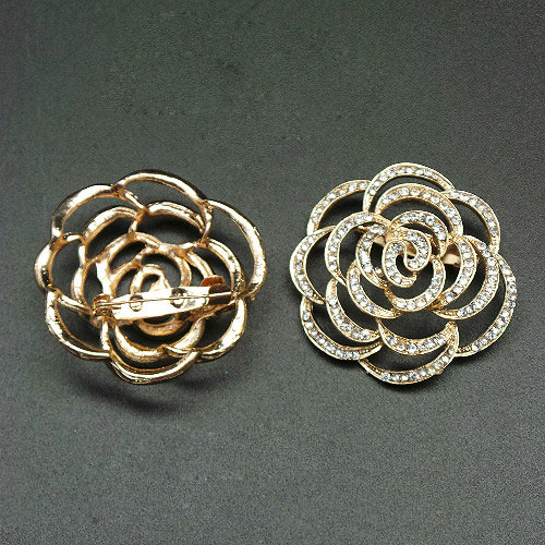 Rose Elina Brooch 2