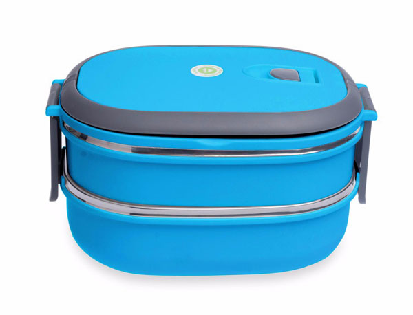 stainless steel food container 2 layer1