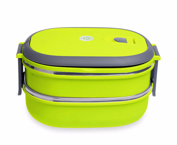 stainless steel food container 2 layer2