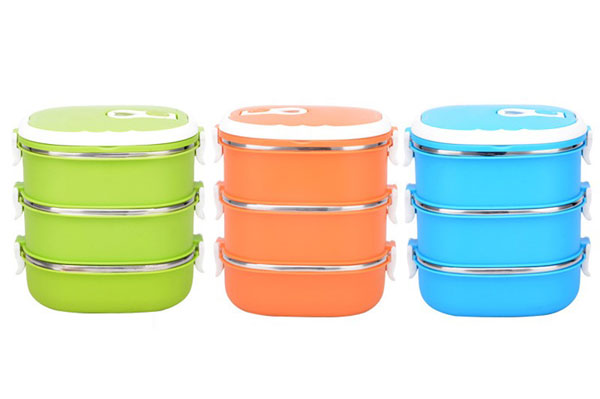 stainless steel food container 3 layer1