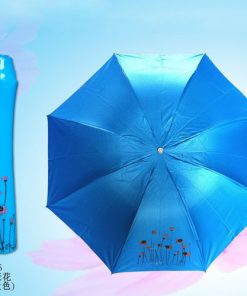 Blue Rose Vase Umbrellas