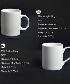Ceramic Porcelain Mugs