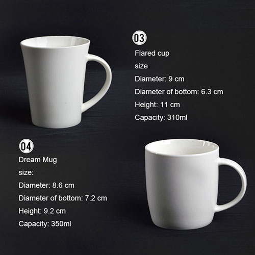 Ceramic Porcelain Mugs 2