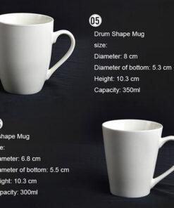 Ceramic Porcelain Mugs 3