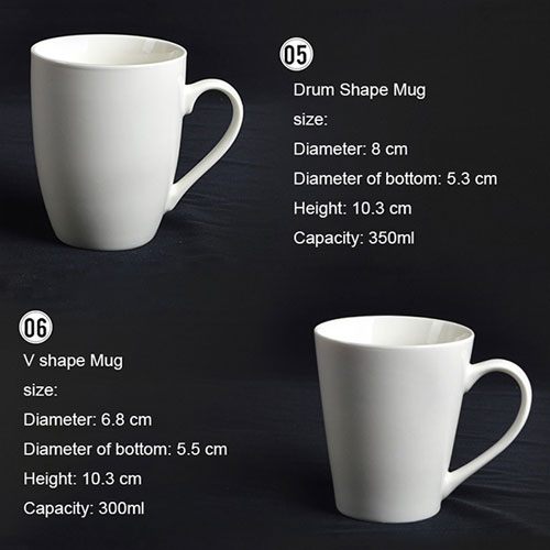 Ceramic Porcelain Mugs 3
