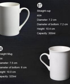 Ceramic Porcelain Mugs 4