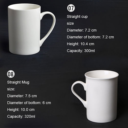 Ceramic Porcelain Mugs 4
