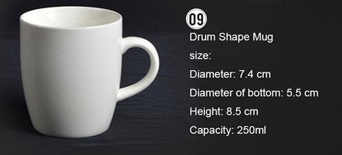 Ceramic Porcelain Mugs 5
