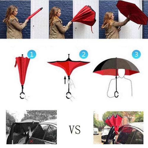Double Layer Inverted Umbrella 3