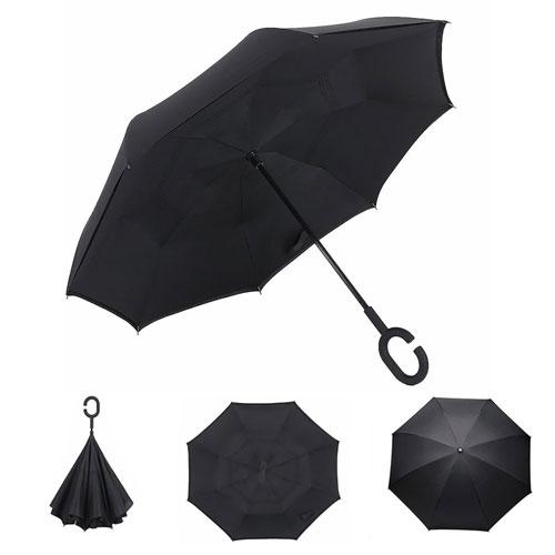 Inverted Umbrella black