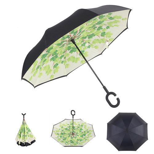 Inverted Umbrella green