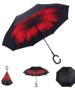 Inverted Umbrella red