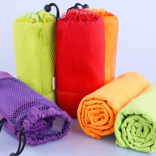 Microfiber Gym Towel With Bag