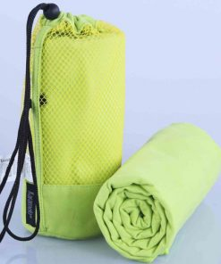 Microfiber Gym Towel Green