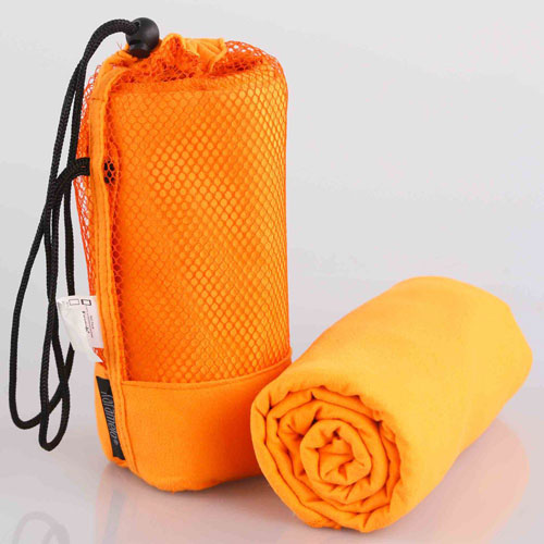 Microfiber Gym Towel Orange