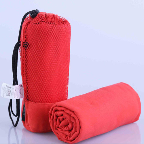 Microfiber Gym Towel Red