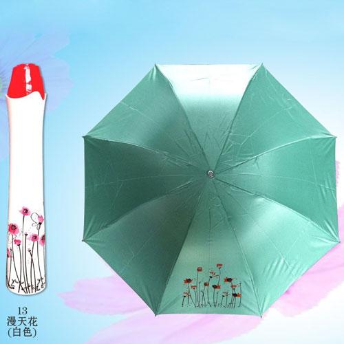green rain umbrella