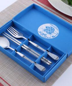 tableware blue