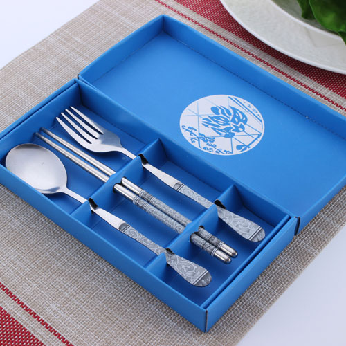 tableware blue