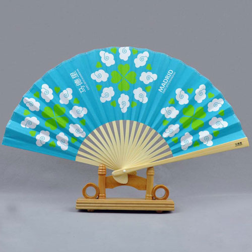 personalized paper hand fan 1