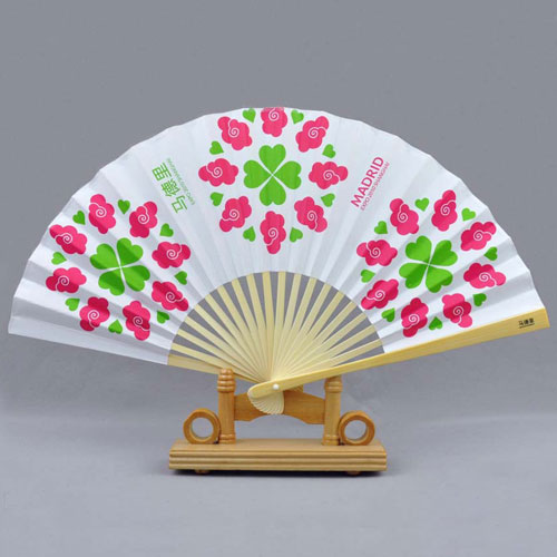 personalized paper hand fan 2